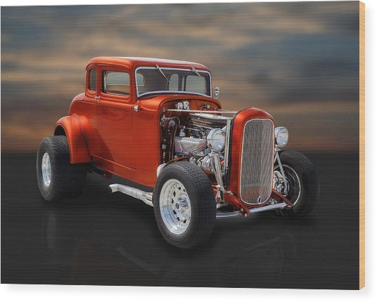 1932 Ford Coupe Wood Print