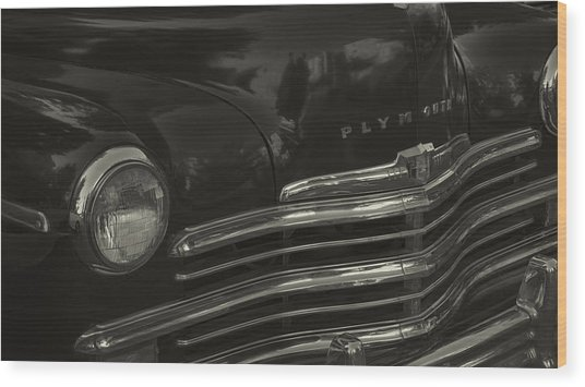 1949 Plymouth Deluxe  Wood Print