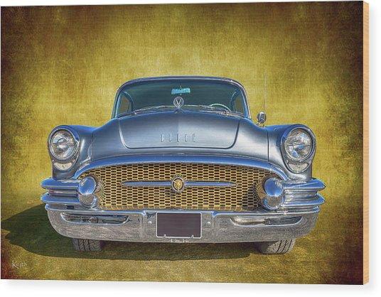 1955 Buick Wood Print