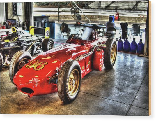 1961 Elder Indy Racing Special Wood Print