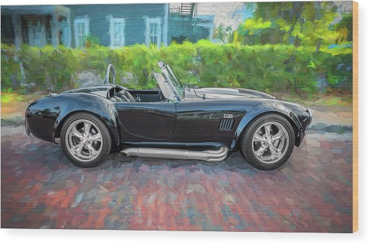1965 Ford Ac Cobra Painted    Wood Print