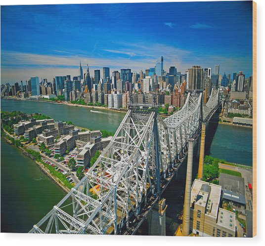 59th Street Bridge Wood Print