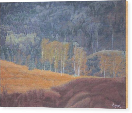 A Ray Of Sun Wood Print