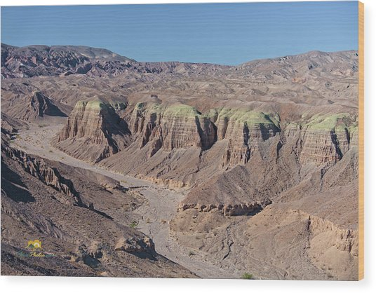 Wood Print featuring the photograph Afton Canyon by Jim Thompson