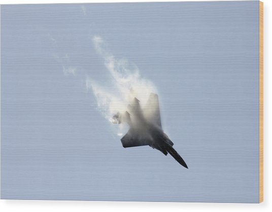 Air Show Wood Print by Michael Dillard