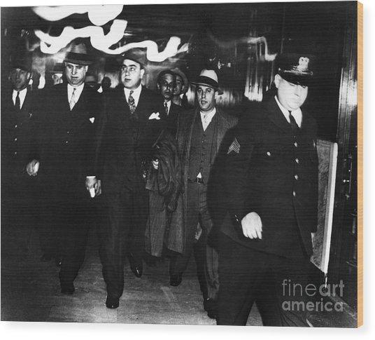 Alphonse Capone (1899-1947) Wood Print