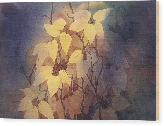 August I Wood Print