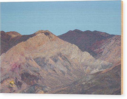 Wood Print featuring the photograph Avawatz Mountain by Jim Thompson