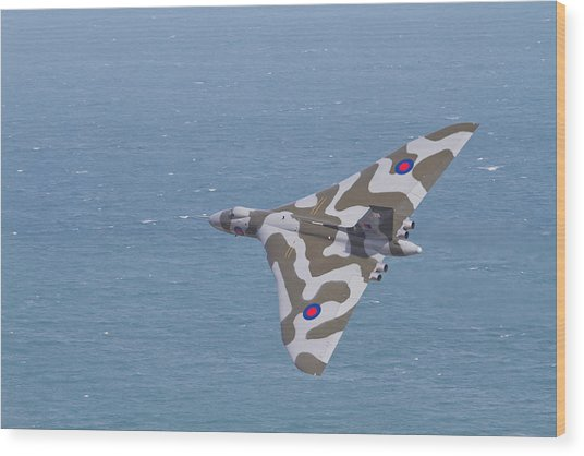 Avro Vulcan  Wood Print
