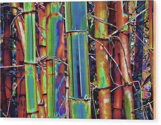 Bamboo 2 Wood Print