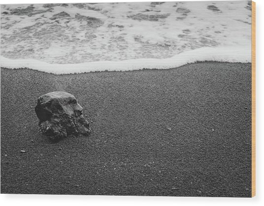 Beachscape No. 32 Wood Print