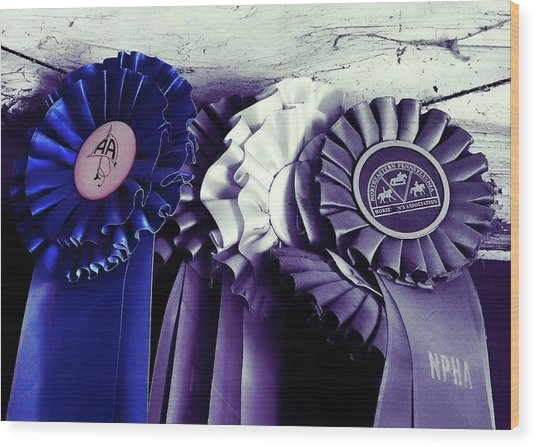 Best In Show Blue Wood Print by JAMART Photography