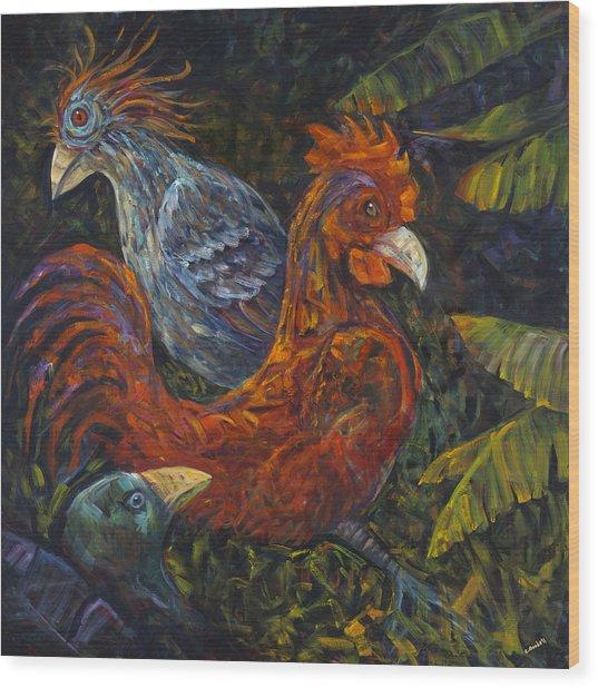 Birditudes Wood Print