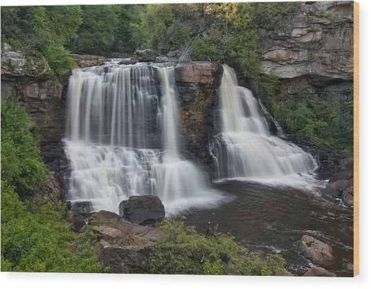 Blackwater Falls Wood Print