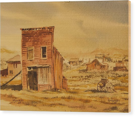 Bodie California Wood Print by Kevin Heaney