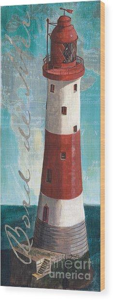 Bord De Mer Wood Print