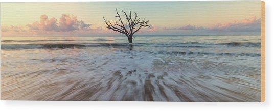 Botany Bay Morning Wood Print