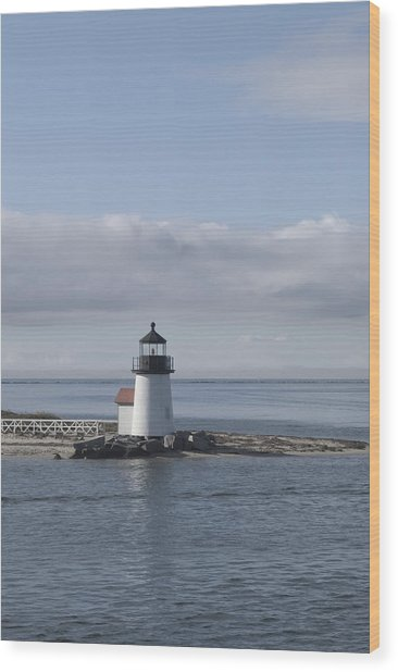 Brant Point - Nantucket Wood Print by Henry Krauzyk