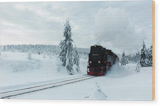 Brockenbahn, Harz Wood Print