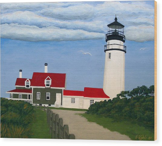 Cape Cod Highland Lighthouse Painting By Frederic Kohli