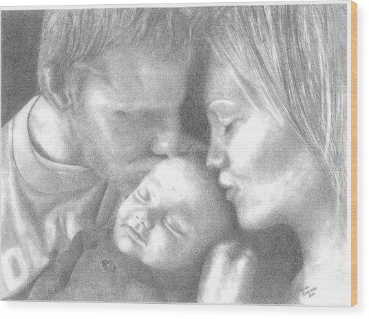 Cassiday Family 1  Wood Print by Rhonda  Rodericks