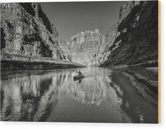 Cataract Canyon Wood Print