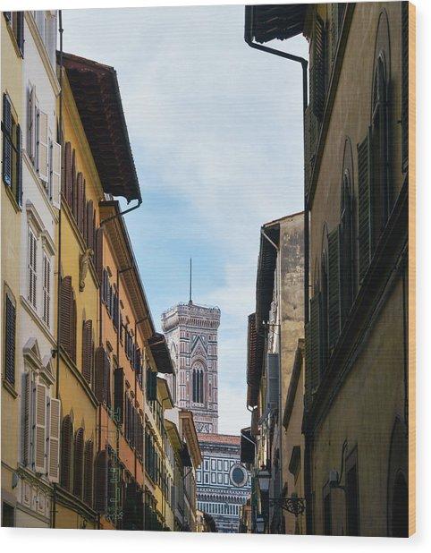 Cattedrale Di Santa Maria Del Fiore, Florence Wood Print