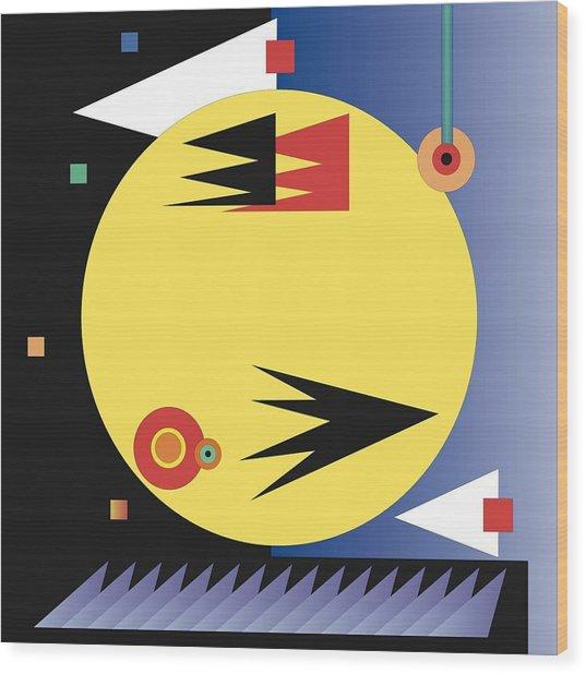 Choreographic Wood Print by James Maltese