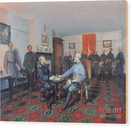Civil War: Appomattox, 1865 Wood Print