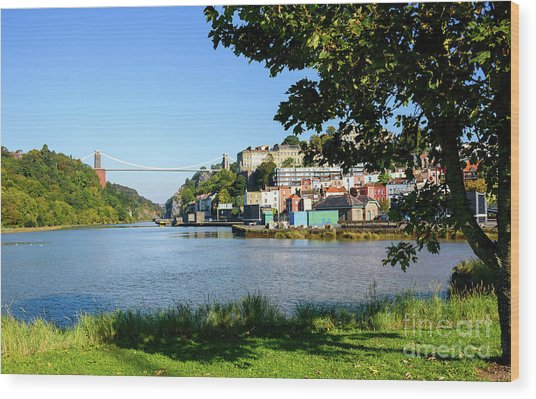 Clifton Suspenion Bridge Wood Print