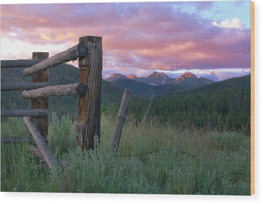 Colorado Glory Wood Print