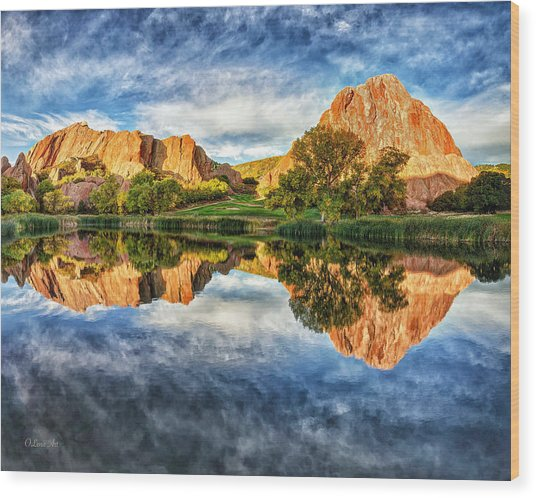 Colorful Colorado Wood Print