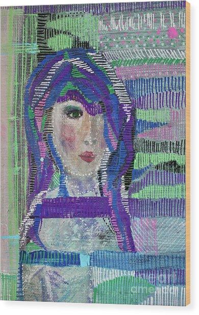 Complicated Woman Wood Print