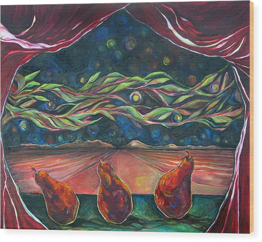 Consequence Beyond The Horizon Wood Print