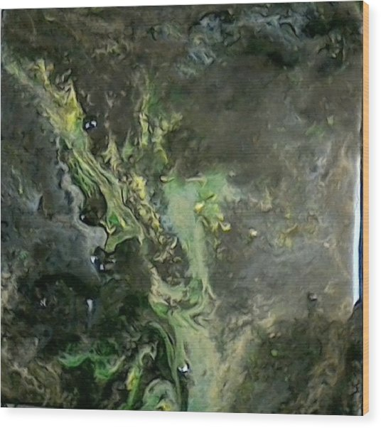 Cosmic Ash Wood Print