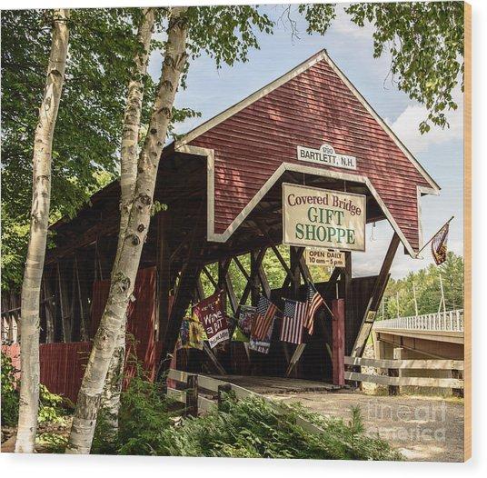 Covered Bridge Gift Shoppe Wood Print