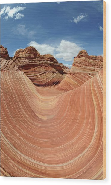 Coyote Buttes Wood Print