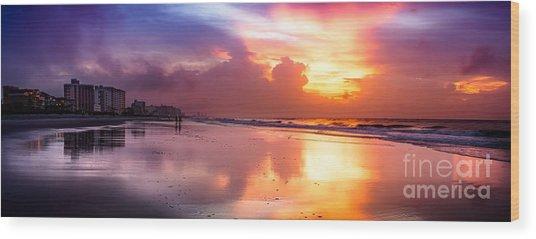 Crescent Beach September Morning Wood Print