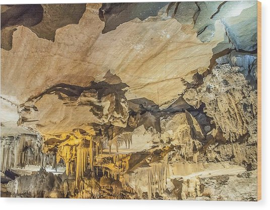 Crystal Cave Sequoia National Park Wood Print