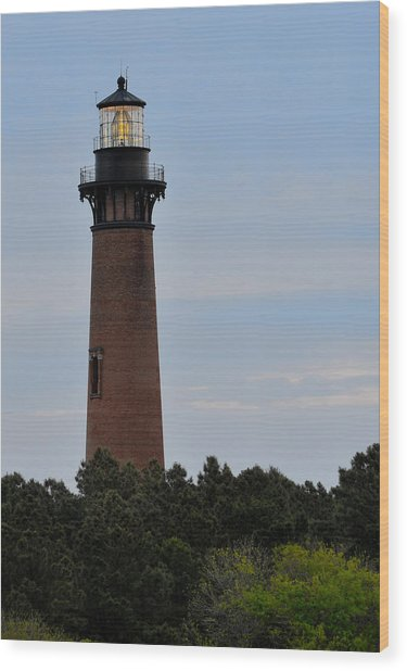 Curritucks Light Wood Print
