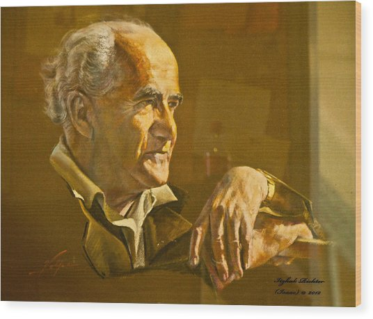 David Ben Gurion - Israel First Pm Wood Print