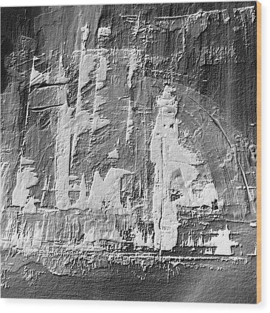 Dj's World Wood Print