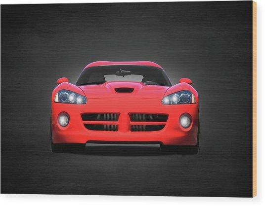 Dodge Viper Wood Print