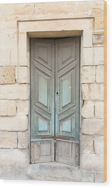 Doors Of The World 87 Wood Print