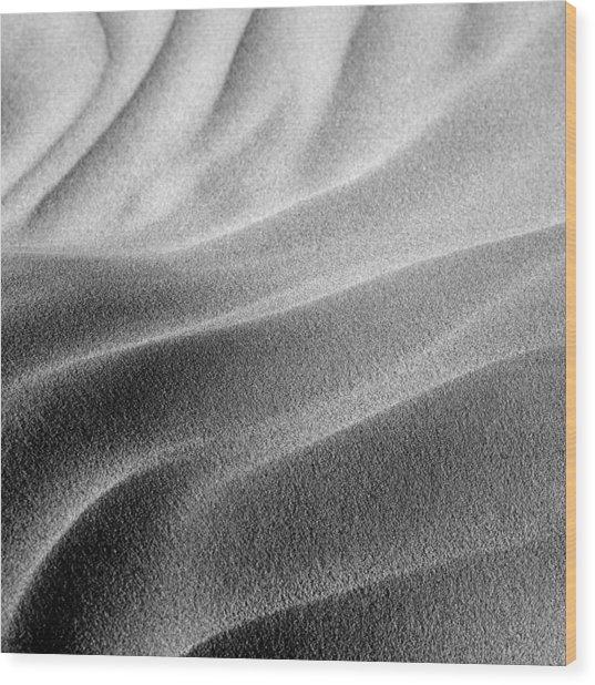 Dunes Wood Print
