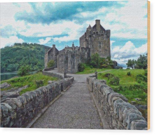 Eilean Donan Castle - -sct665549 Wood Print