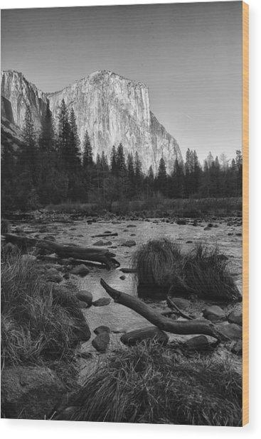El Capitan Wood Print