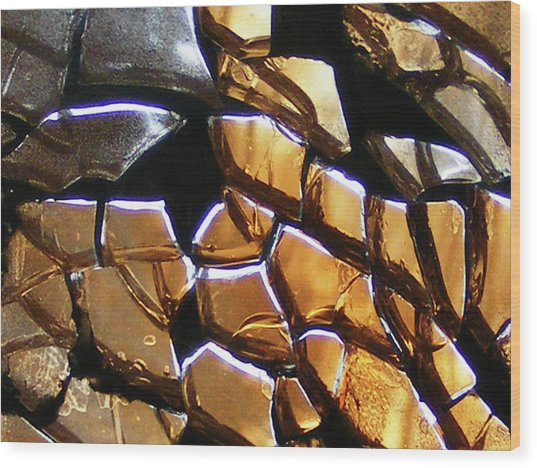 Element Earth Wood Print