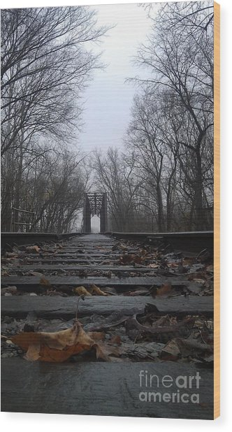 Endless Journey Wood Print
