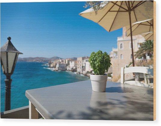 Ermoupoli - Syros / Greece. Wood Print